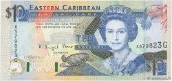 10 Dollars CARAÏBES  1993 P.27g pr.NEUF