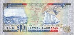 10 Dollars CARAÏBES  1993 P.27l NEUF