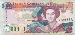 20 Dollars CARAÏBES  1993 P.28a NEUF
