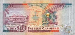 20 Dollars CARAÏBES  1993 P.28l SPL