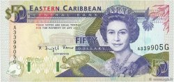 50 Dollars CARAÏBES  1993 P.29g NEUF