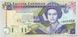 50 Dollars CARAÏBES  1993 P.29k SPL+