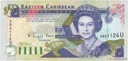 50 Dollars CARAÏBES  1993 P.29u NEUF