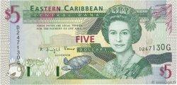 5 Dollars CARAÏBES  1994 P.31g SPL+
