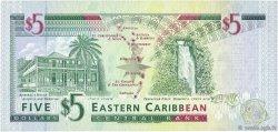 5 Dollars CARAÏBES  1994 P.31k NEUF