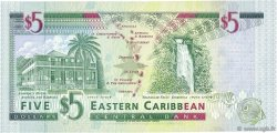 5 Dollars CARAÏBES  1994 P.31m NEUF