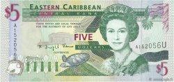 5 Dollars CARAÏBES  1994 P.31u NEUF