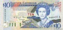 10 Dollars CARAÏBES  1994 P.32a NEUF