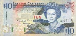 10 Dollars CARAÏBES  1994 P.32g pr.NEUF