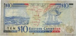 10 Dollars CARAÏBES  1994 P.32l TB