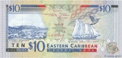 10 Dollars CARAÏBES  1994 P.32v NEUF