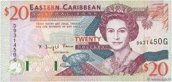 20 Dollars CARAÏBES  1994 P.33g NEUF