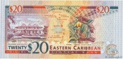 20 Dollars CARAÏBES  1994 P.33v SPL+