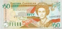 50 Dollars CARAÏBES  1994 P.34u NEUF