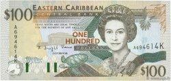 100 Dollars CARAÏBES  1994 P.35k NEUF