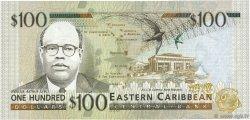 100 Dollars CARAÏBES  1998 P.36m NEUF