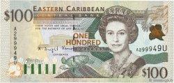 100 Dollars CARAÏBES  1998 P.36u NEUF