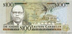 100 Dollars CARAÏBES  1998 P.36v NEUF