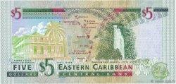 5 Dollars CARAÏBES  2000 P.37g NEUF