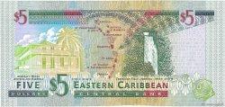5 Dollars CARAÏBES  2000 P.37m pr.NEUF