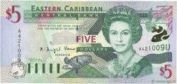 5 Dollars CARAÏBES  2000 P.37u NEUF
