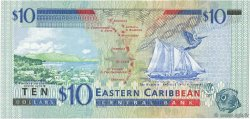 10 Dollars CARAÏBES  2000 P.38d NEUF