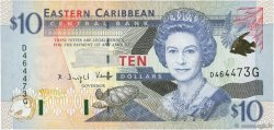 10 Dollars CARAÏBES  2000 P.38g NEUF