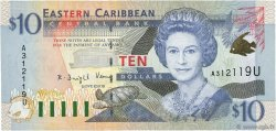 10 Dollars CARAÏBES  2000 P.38u NEUF