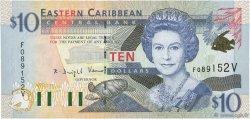 10 Dollars CARAÏBES  2000 P.38v pr.NEUF