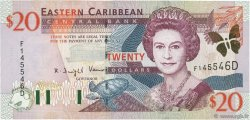 20 Dollars CARAÏBES  2000 P.39d NEUF
