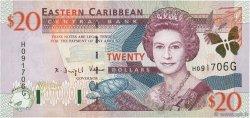 20 Dollars CARAÏBES  2000 P.39g NEUF