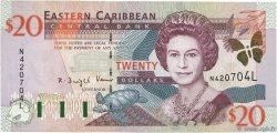 20 Dollars CARAÏBES  2000 P.39l SPL