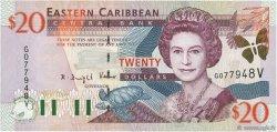 20 Dollars CARAÏBES  2000 P.39v NEUF