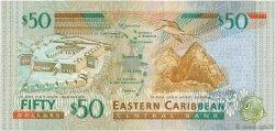 50 Dollars CARAÏBES  2000 P.40a NEUF