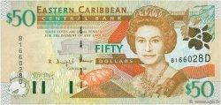 50 Dollars CARAÏBES  2000 P.40d NEUF