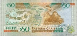 50 Dollars CARAÏBES  2000 P.40g NEUF