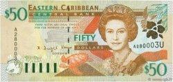 50 Dollars CARAÏBES  2000 P.40u NEUF