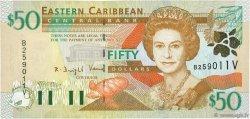 50 Dollars CARAÏBES  2000 P.40v NEUF