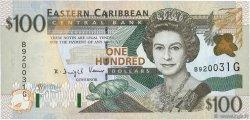 100 Dollars CARAÏBES  2000 P.41g NEUF