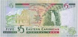 5 Dollars CARAÏBES  2003 P.42a NEUF