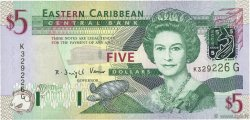 5 Dollars CARAÏBES  2003 P.42g NEUF