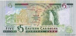 5 Dollars CARAÏBES  2003 P.42k SPL+