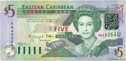 5 Dollars CARAÏBES  2003 P.42u NEUF
