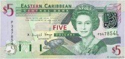5 Dollars CARAÏBES  2003 P.42Al pr.NEUF