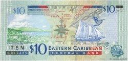 10 Dollars CARAÏBES  2003 P.43d NEUF