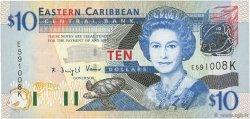 10 Dollars CARAÏBES  2003 P.43k NEUF