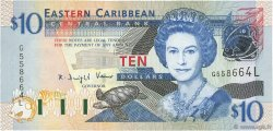 10 Dollars CARAÏBES  2003 P.43l NEUF