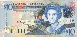 10 Dollars CARAÏBES  2003 P.43m NEUF