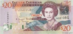 20 Dollars CARAÏBES  2003 P.44g SPL