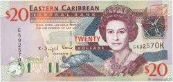 20 Dollars CARAÏBES  2003 P.44k pr.NEUF